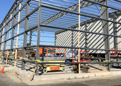 NW Steel Designs Cranes and Top Rail